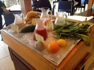 Hoshinoya Juice bar 300x225 Hoshinoya Taketomi   Stay as if you are living there (Okinawa Part 6)