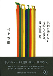 tsukuru [Review] Colorless Tsukuru Tazaki, and His Years of Pilgrimage   Haruki Murakamis latest